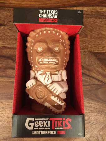 The Texas Chainsaw Massacre Leatherface 18 oz Geeki Tikis Ceramic Horror Mug