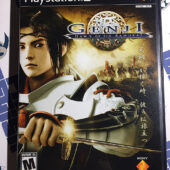 Genji: Dawn of the Samurai PlayStation 2 Original Case with Manual PS2 (2005)