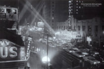 Hollywood Boulevard at Night 1956 Academy Awards – The Oscars 36 x 24 inch Poster