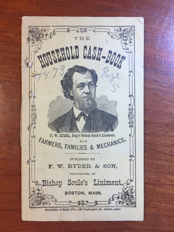 Household Cash Book For Farmers, Families & Mechanics (1873)