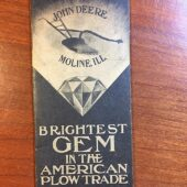 John Deere Vintage Advertising Booklet – Moline, Ill, Brightest Gem in the American Plow Trade