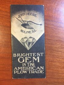 John Deere Vintage Advertising Booklet – Moline, Ill, Brightest Gem in the American Plow Trade