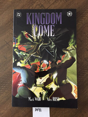 Kingdom Come Trade Paperback TPB Edition (1997) 5th Printing Alex Ross [A91]
