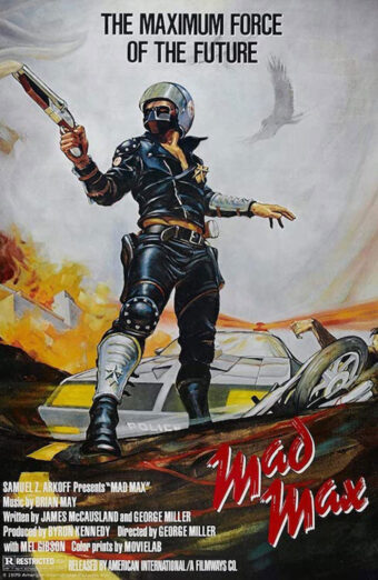 Mad Max 24 x 36 inch Movie Poster (1979)