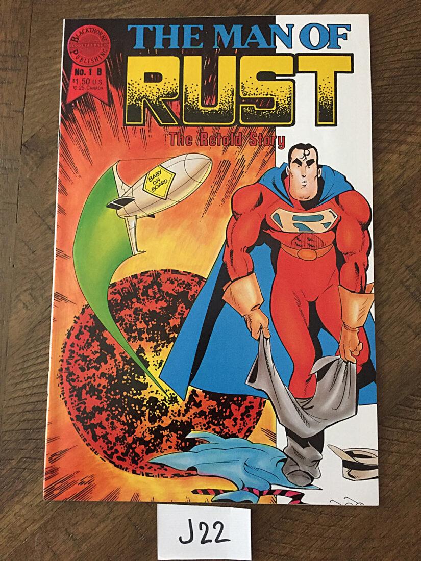 The Man of Rust: The Retold Story No. 1B  (November 1986) [J22]