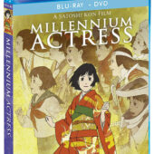 Satoshi Kon's Millennium Actress Blu-ray + DVD Special Edition with Slipcover