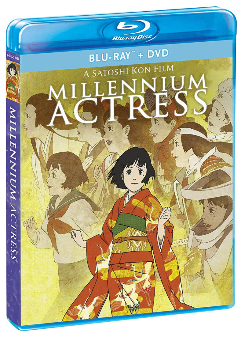 Satoshi Kon's Millenium Actress Blu-ray + DVD Special Edition with Slipcover