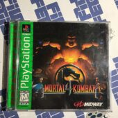 Mortal Kombat 4 (Sony PlayStation 1 PS1, 1998) Complete with Manual