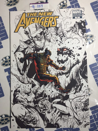 The New Avengers No. 54 SDCC Variant Cover Edition (2009) [9257]