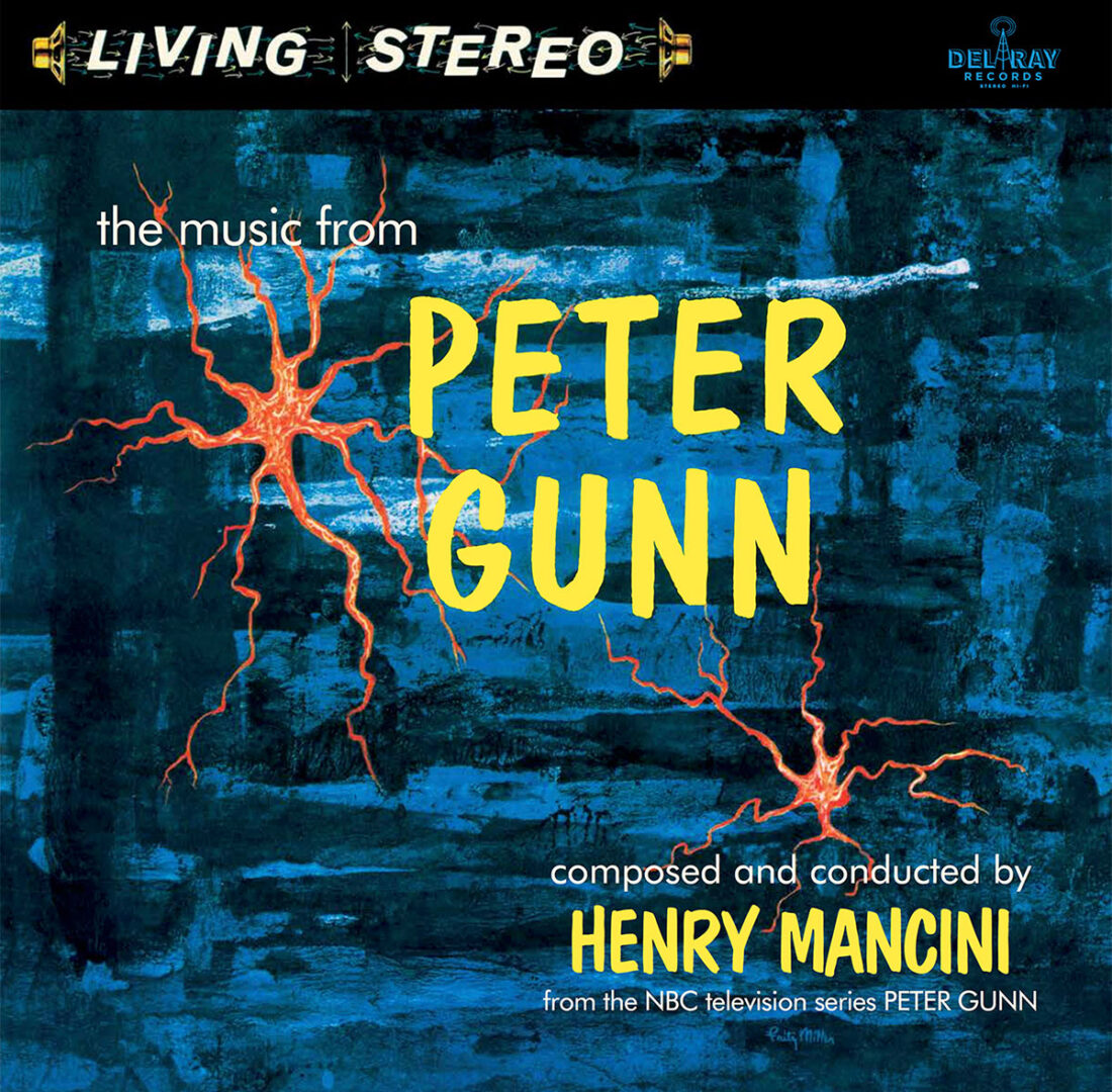 The Music from Peter Gunn by Henry Mancini Limited Vinyl Edition