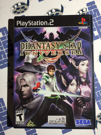 Phantasy Star Universe PlayStation 2 PS2 SEGA