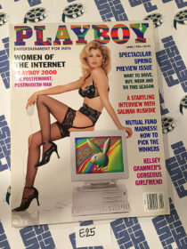Playboy Magazine (April 1996) Women of the Internet, Salman Rushdie, Kelsey Grammer's Girlfriend [E25]