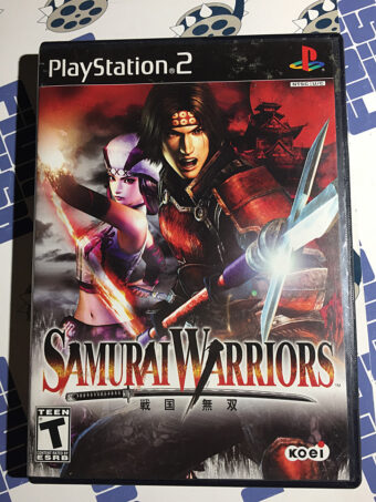 Samurai Warriors PlayStation 2 PS2 Koei (2004)