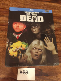 Shaun of the Dead Limited Edition Steelbook Blu-ray [A83]