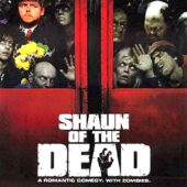 Shaun of the Dead 24 x 36 inch Movie Poster (2004) Simon Pegg, Edgar Wright