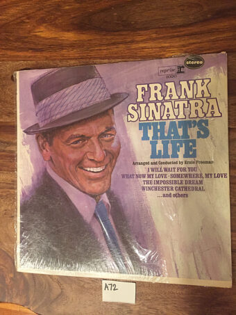 Frank Sinatra That's Life Vinyl Edition Reprise Records FS1020 (1966) [A72]