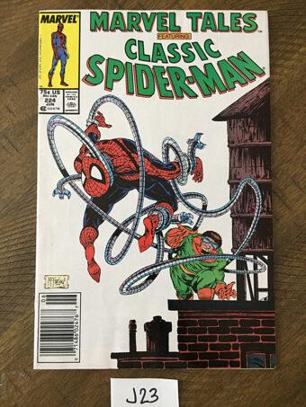 Marvel Tales Spider-Man No. 224 (1989) Todd McFarlane Art [J23]