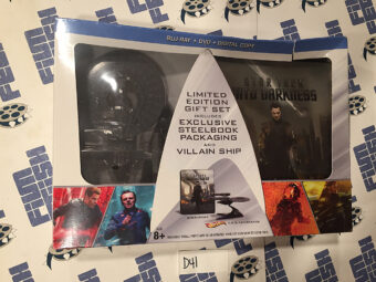Star Trek Into Darkness Limited Edition Gift Set Steelbook Blu-ray + Hot Wheels Die-Cast Metal Collector Villain Ship (2014)