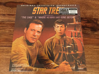 Star Trek Original Television Pilots Soundtrack Limited Vinyl Edition (The Cage and Where No Man Has Gone Before)