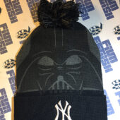 New York Yankees Star Wars Night RARE Darth Vader Winter Knit Cap (August 25, 2017) [12489]