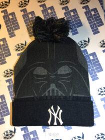 New York Yankees Star Wars Night RARE Darth Vader Winter Knit Cap (August 25, 2017) [12489]
