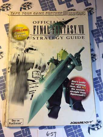 Official Final Fantasy VII Strategy Guide Brady Games (1997) [657]