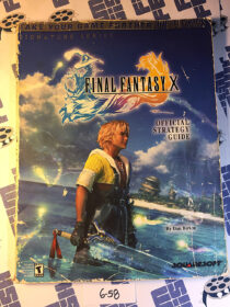 Final Fantasy X Official Strategy Guide Brady Games (2002) [658]
