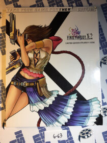 Final Fantasy X-2 Limited Edition Strategy Guide and Art Collection Rikku Cover (2003) [663]