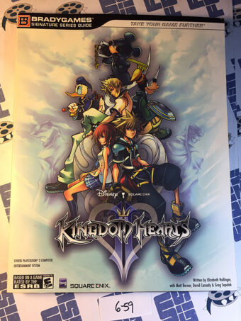 Kingdom Hearts 2 Official Strategy Guide Brady Games (2006) [659]
