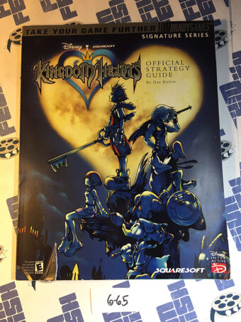 Kingdom Hearts Official Strategy Guide Brady Games (2002) [665]