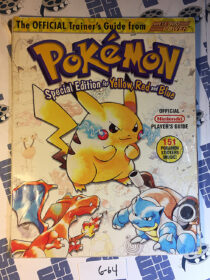 Pokemon Special Edition for Yellow, Red and Blue Official Nintendo Players Guide [664]
