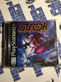Streak: Hoverboard Racing PlayStation PS1 (1998) Complete with Manual