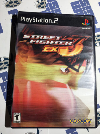 Street Fighter EX3 PlayStation 2 PS2 (2000) CAPCOM with Manual