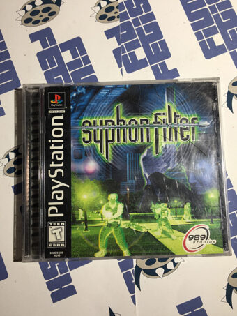 Syphon Filter PlayStation PS1 (1999) Complete with Manual
