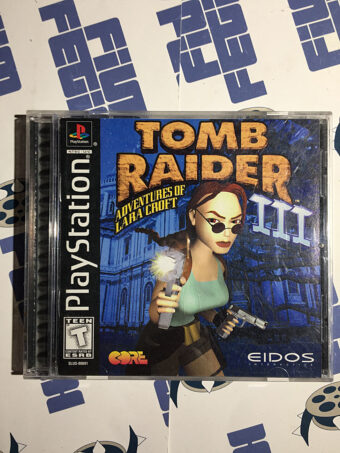 Tomb Raider III: Adventures of Lara Croft PlayStation PS1 (1998)