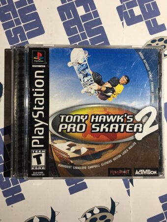 Tony Hawk's Pro Skater 2 PlayStation PS1 Activision (2000)
