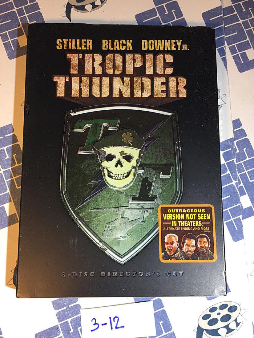 Tropic Thunder 2-Disc Unrated Director's Cut DVD Special Edition with Alternate Ending