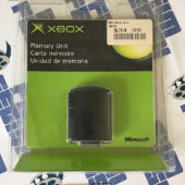 Sealed MICROSOFT XBOX Original 2001 OEM Memory Unit Card X08-25318 Brand New [A12]