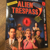 Alien Trespass Special San Diego Comic-Con 40th Anniversary DVD Slipcover (2009) [C33]
