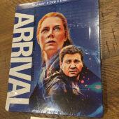 Arrival Steelbook Blu-ray + DVD + Ultraviolet Digital (2018) [B63]