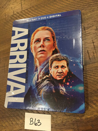 Arrival Steelbook Blu-ray + DVD + Ultraviolet Digital (2018) [B63]