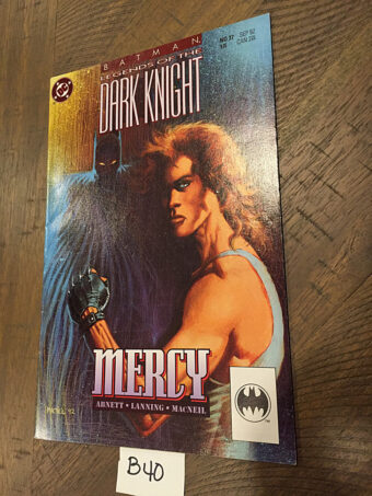 Batman: Legends of the Dark Knight – Mercy No. 37 (Sept. 1992) DC Comics [B40]