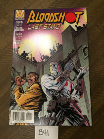 Bloodshot: Last Stand Valiant Comics (Vol. 1, March 1996) [B41]