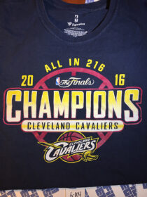 Cleveland Cavaliers Officially Licensed 2016 NBA Finals Champions T-Shirt XL [6104] Fanatics