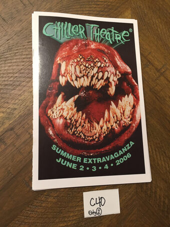 Chiller Theatre Program Guide Summer Extravaganza (June 2006) [C40]