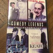 Comedy Legends Collector's Set: W.C. Fields, Groucho Marx, Laurel & Hardy, Buster Keaton (2009) [J90]