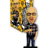 David Cross Hand-Numbered Limited Edition Throbblehead (2013)