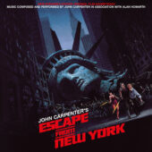 John Carpenter's Escape From New York Original Film Soundtrack Expanded Vinyl 2-Disc Edition