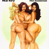 Extreme Curves: Phat Girls Illustrated Pin-Ups by Phil Henderson (2008)