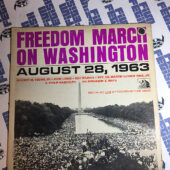 Freedom March On Washington August 28, 1963 LP 1963 20th Century Fox TFM-3110
